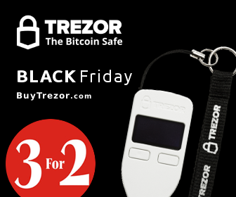 Trezor sale black friday