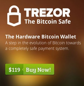 buy bitcoin trezor - the hardware bitcoin wallet