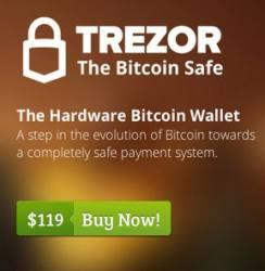bitcoin trezor the hardware wallet